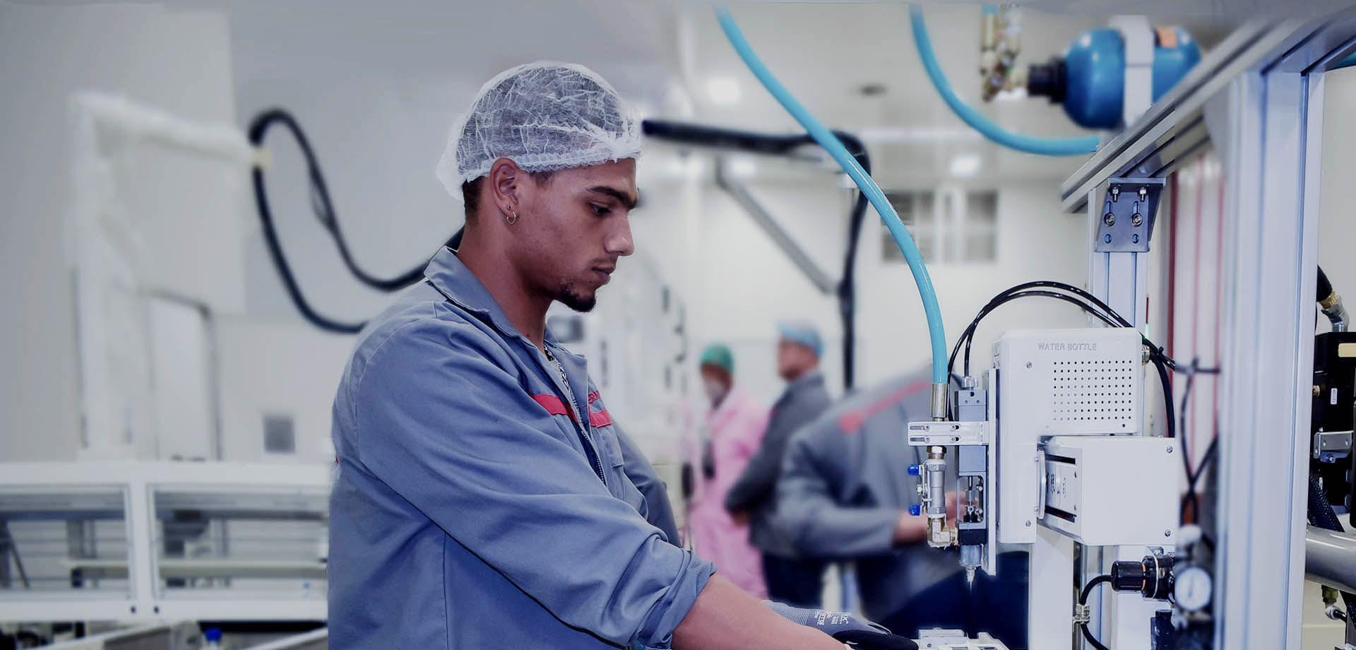 南アフリカの製造工場が操業を開始し、アフリカの